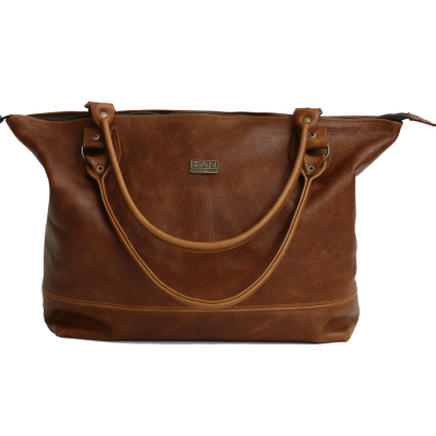 e74cf46927e Daisy Leather Handbag - Pecan