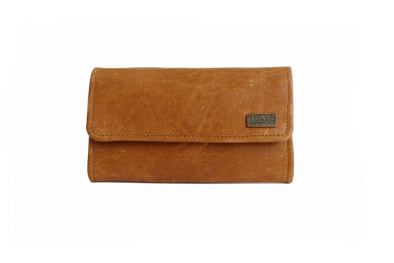 Lauren Ladies Wallet - Toffee